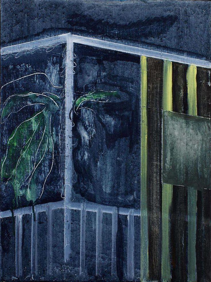Night Balcony North Coast - Peter Doig 2012 Scottish b.1959-