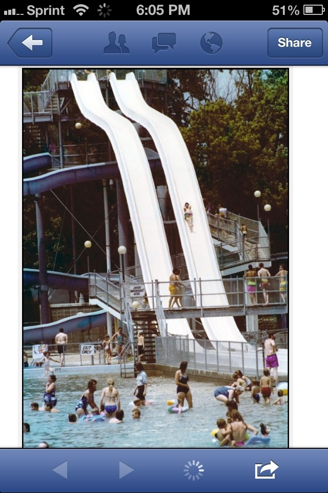 Water Slides At Peony Park Peony Park Pinterest Parks Water And Peonies