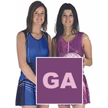 Our Sublimated Bibs-Patches Netball Dresses are the latest in netball fashion.
