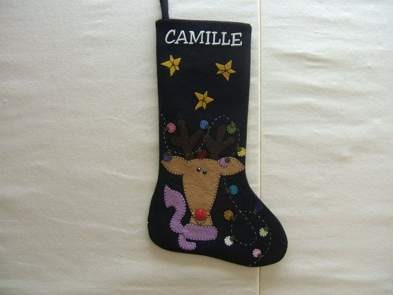 Custom Christmas Stocking Design Your Own by MikeandMollyscrafts