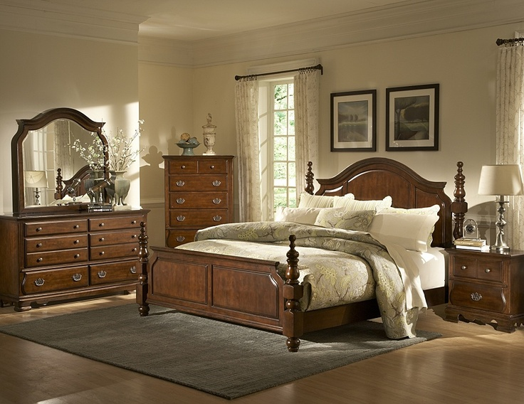 7PC Cherry Finish Bedroom Set   Queen  1450 99  988 99. 17 Best images about Bedroom Sets on Pinterest   Leather headboard