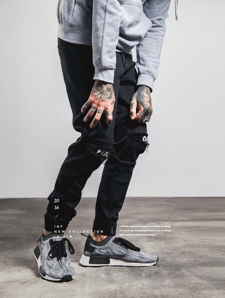 Ripped Frayed Skinny Destroyed Joggers Pants  730a1ae3e9e