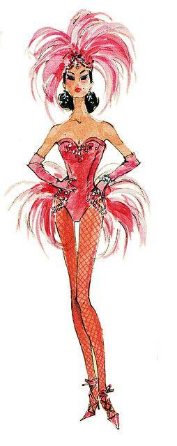 Barbie Fashion Model Collection Silkstone Showgirl by MyLifeInPlastic.com, via Flickr