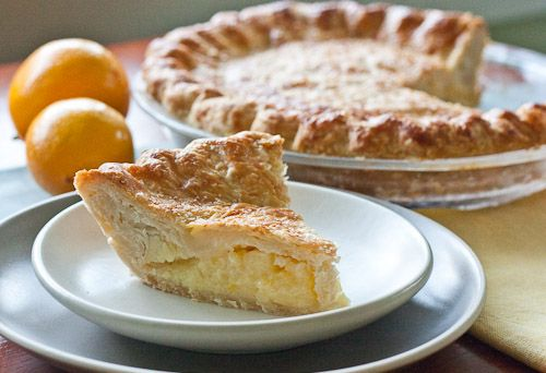 Shaker Lemon Pie | Meyer Lemon Recipes | Pinterest