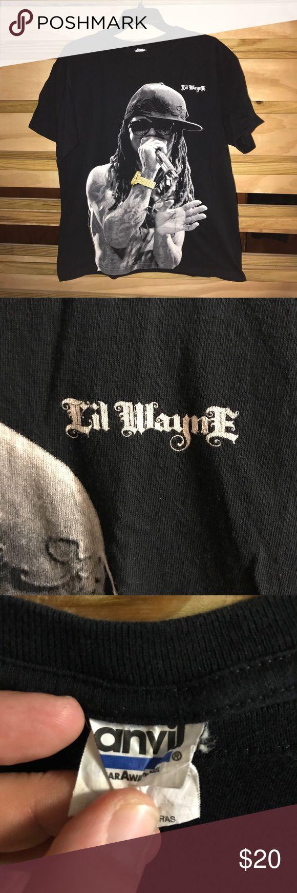 Vintage Lil Wayne T-shirt Early 2000's vintage Lil Wayne T-shirt band tees Shirts Tees - Short Sleeve