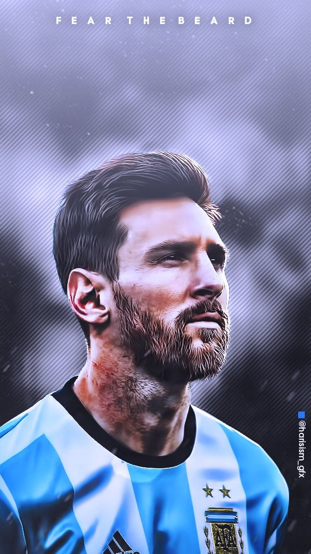 Lionel Messi for Argentina National Footbal Team Legendary