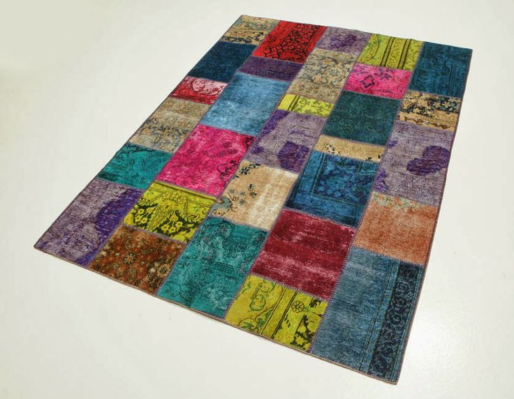 Serendipitylands diy home alfombras patchwork diy home - Alfombras patchwork vintage ...