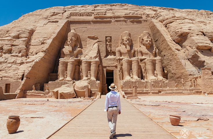 Visiting the temple of Ramesses II in Abu Simbel [how it looks inside]