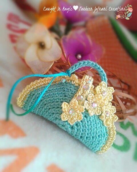 Mini handbag fridge magnet ♥♥