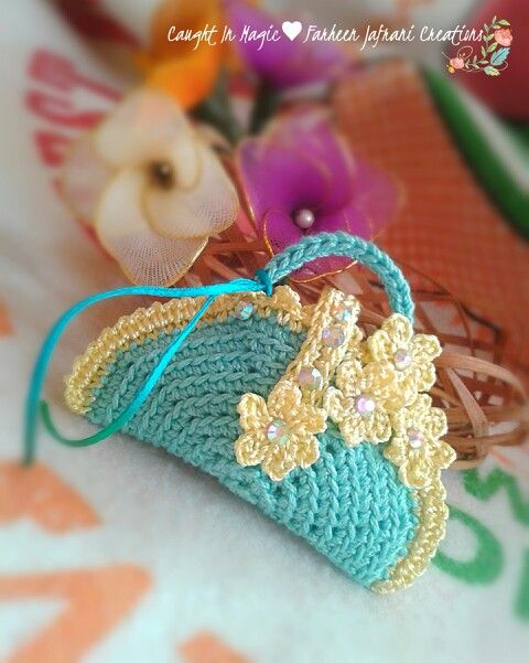 Mini handbag fridge magnet ♥♥