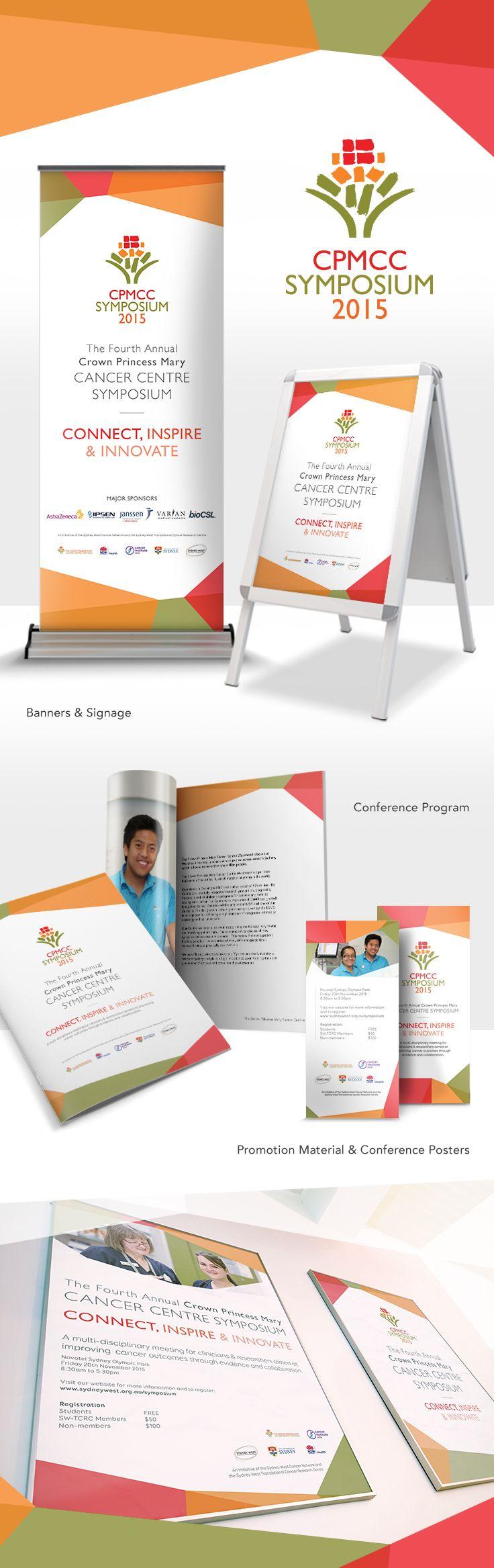 CPMCC Symposium 2015 Branding | Graphic Design, Brand Identity, Signage, Pull up…