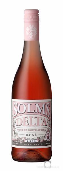 Wine Photography: Solms Delta Rosé 2014. www.bakkesimages.co.za