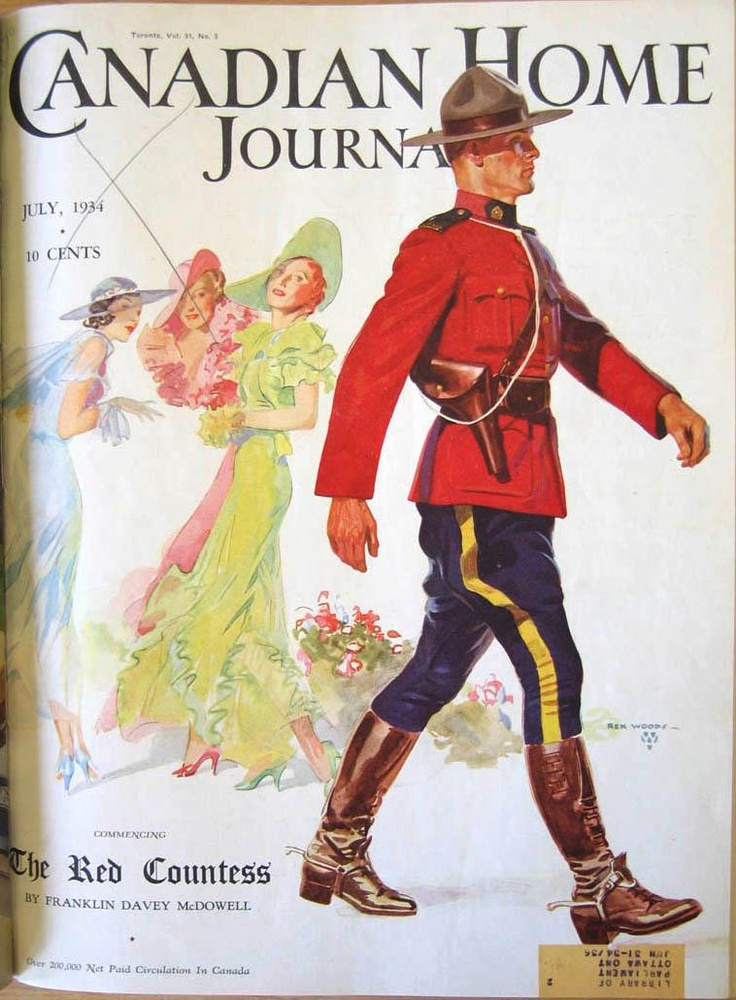 Canadian Home Journal, July 1934