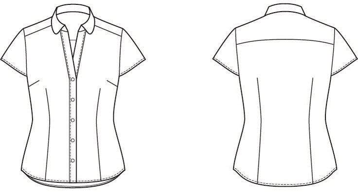 Patron chemisette gratuit du blog essais et erreurs