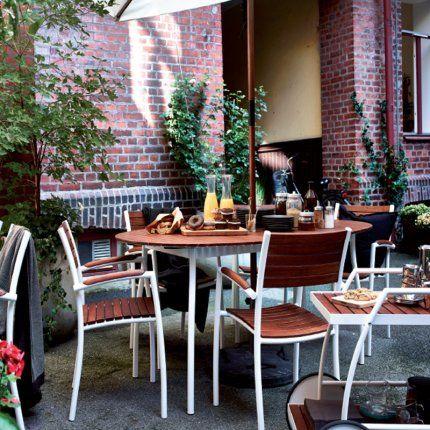 Balkonmöbel set ikea  55 best IKEA VINDALSO images on Pinterest | Diner table, Dining ...