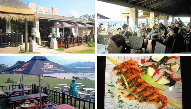 C-Bali, a delightful restaurant with a great view at St Michaels Beach. Excellent service and great food.