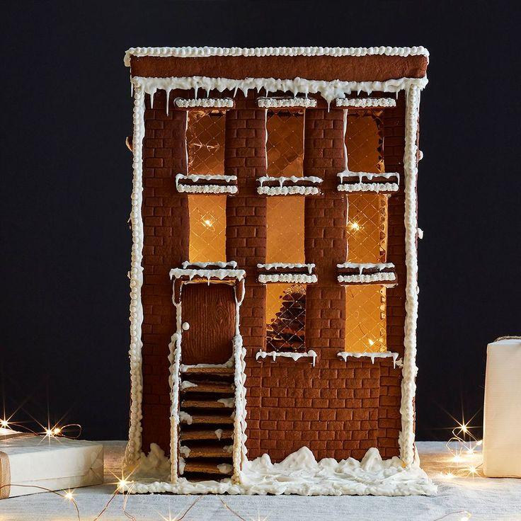 Our Dream Gingerbread Brownstone (& Tips for Making Your Own Gingerbread House) on Food52