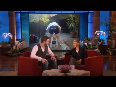 ▶ Chris Pratt's Whole Family Loves Ellen Underwear - YouTube