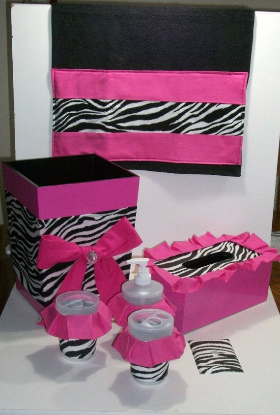 I do need some black  But pale pink 50 sBest 25  Zebra bathroom ideas on Pinterest   Zebra print bathroom  . Pink And Black Bathroom Accessories. Home Design Ideas