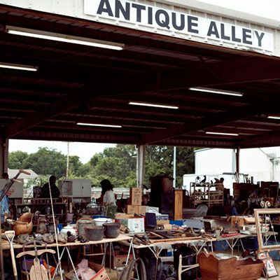 Shop the Nashville Flea Market-March through November on the 4th weekend of each month