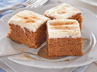 Carrot gingerbread cake - This easy to make cake will become a family favourite.