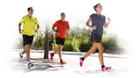 Perte de poids d'environ 5 kg en course à pied, 2 séances par semaine pendant 10 semaines.   kalenji