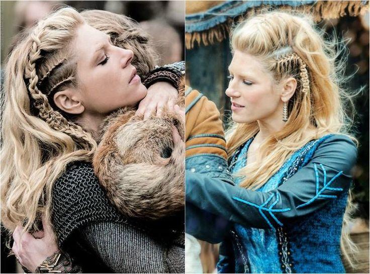 coiffure et déguisement Halloween femme thème Vikings: Lagertha