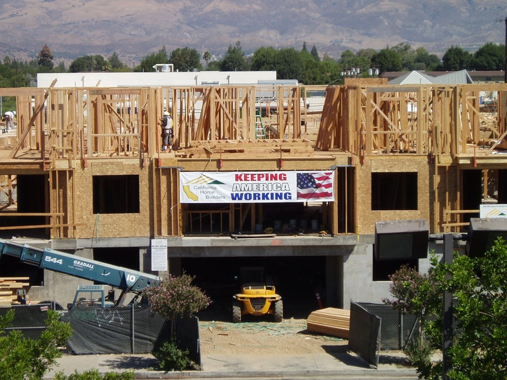 Keeping America Working At Le Blanc Apartments In Canoga Park By California Home Builders