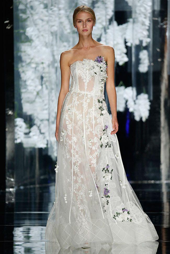 Yolan Cris wedding dress at Barcelona Bridal Fashion Week 2015