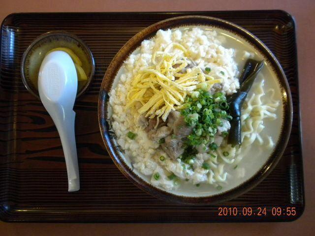 「高江州そば」のゆし豆腐そば