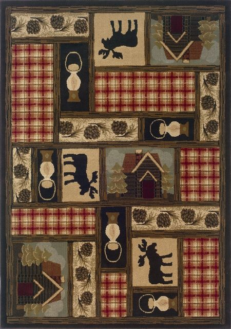 Lodge Podge Rugs, Lodge Style Rugs, Earth Rugs