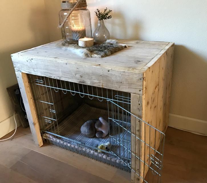 Beste ≥ Bench (tafel) steigerhout - Honden | Hokken en Kooien UK-18