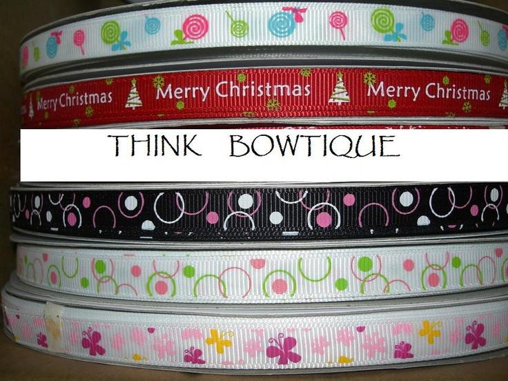 grosgrain ribbon bows how to make