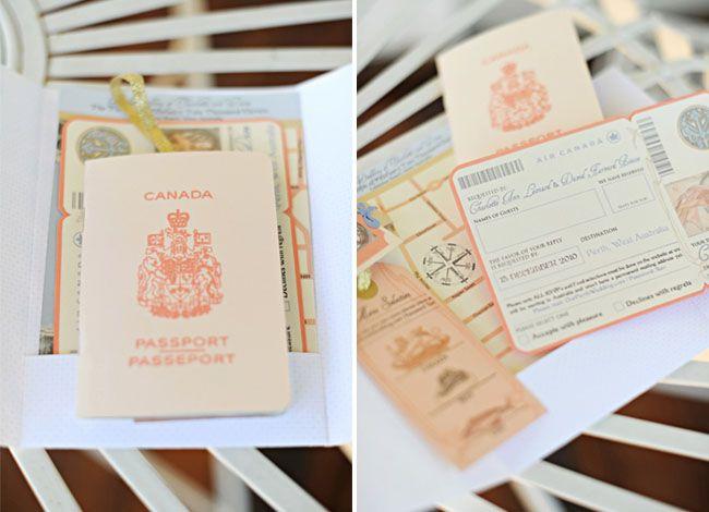 real wedding charlotte daves australian wedding weddings wedding and travel themed weddings - Travel Themed Wedding Invitations