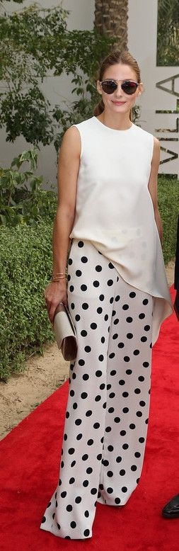 Olivia Palermo- God knows I love my polka dots! She is so chic