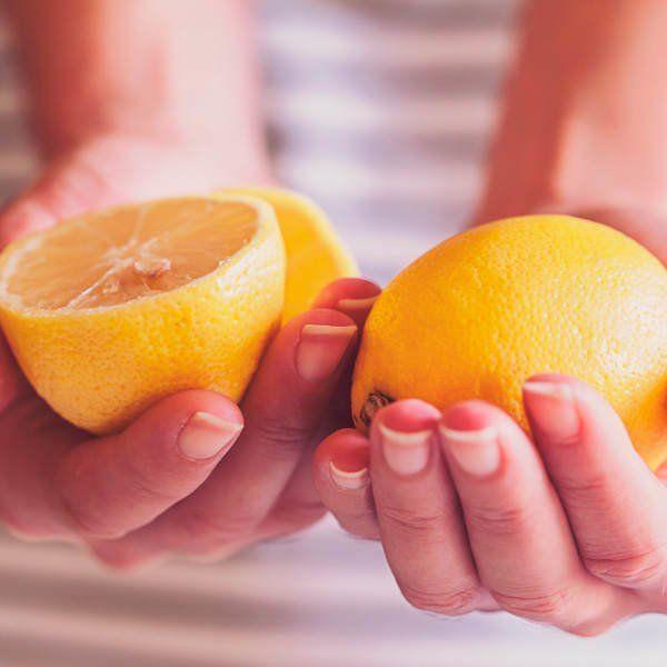 Eiweiß und Zitrone gegen Pickel - Bilder