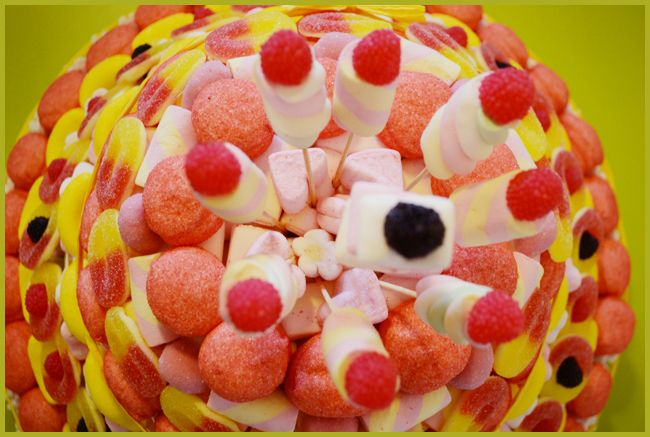 Tweedot blog magazine - candy cake for babies