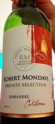 Robert Mondavi Private Selection Zinfandel 2011 - Califórnia - Estados Unidos ~ Papo de Vinho