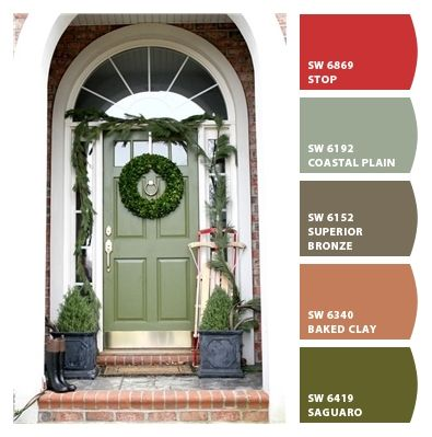 Paint colors from ColorSnap by Sherwin-Williams | Exterior ...