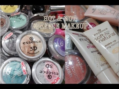 HOT & NOT: ESSENCE MAKEUP PRODUCTS ❤ BIG COLLECTION OVERVIEW 2013