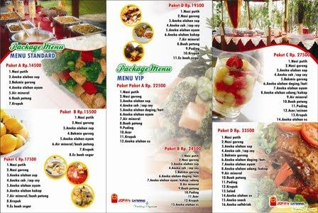 Jofa's Catering Service & Wedding Organizer: Brochure