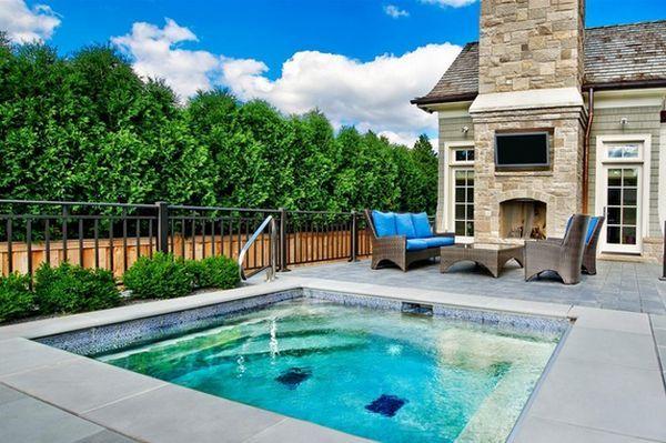 Small Back Yard Swimming Pool