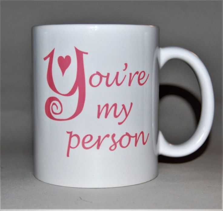 You're my person mug by TotalMug inspired by Grey's Anatomy free message on base by TotalMug on Etsy