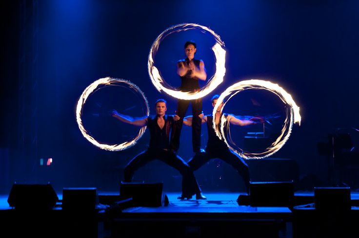 Stage FIRE Show - Anta Agni firedancers and their choreography. http://antaagni.com/fire-show/