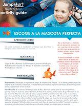 Escoge a la Mascota Perfecta Actividad | No a Norman de Kelly Bennett | 2015 Read for the Record https://www.teachervision.com/pets/printable/76474.html