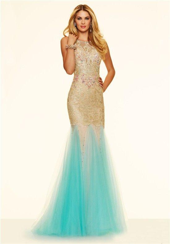 1000  images about Aqua Prom Dresses on Pinterest - Mermaids ...