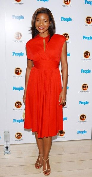 Gabrielle Union Photo - Entertainment Tonight and People Magazines Annual Emmy Party - Arrivals