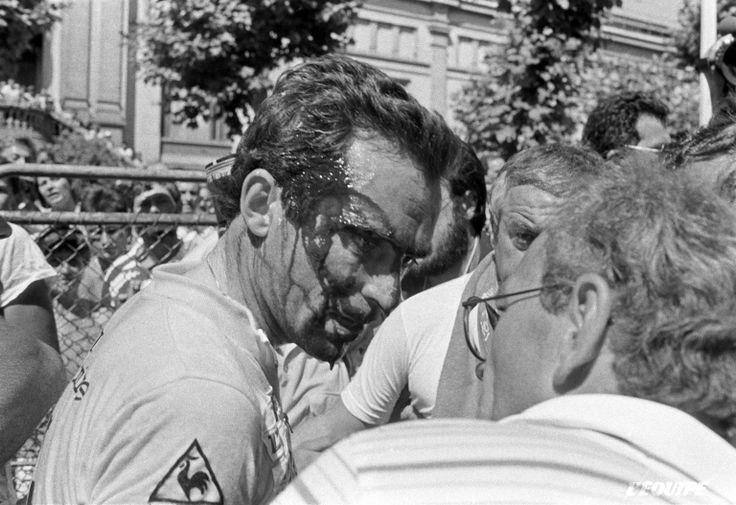 Bernard Hinault Crash