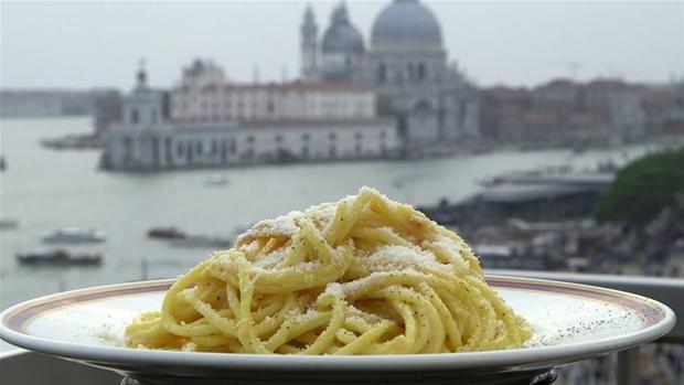 Spaghetti Danieli - Spise med Price