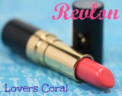 Revlon Lovers Coral Super Lustrous Shine Lipstick